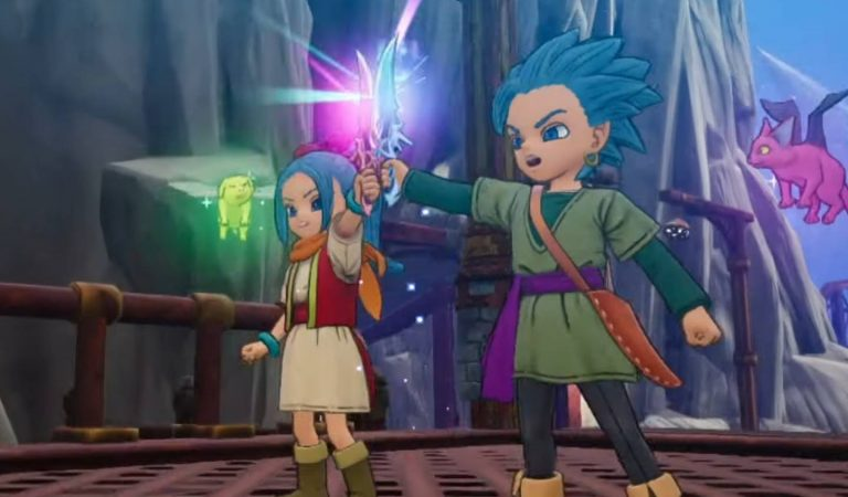 Dragon Quest Treasures, nova spin-off com Erik e Mia, é anunciado