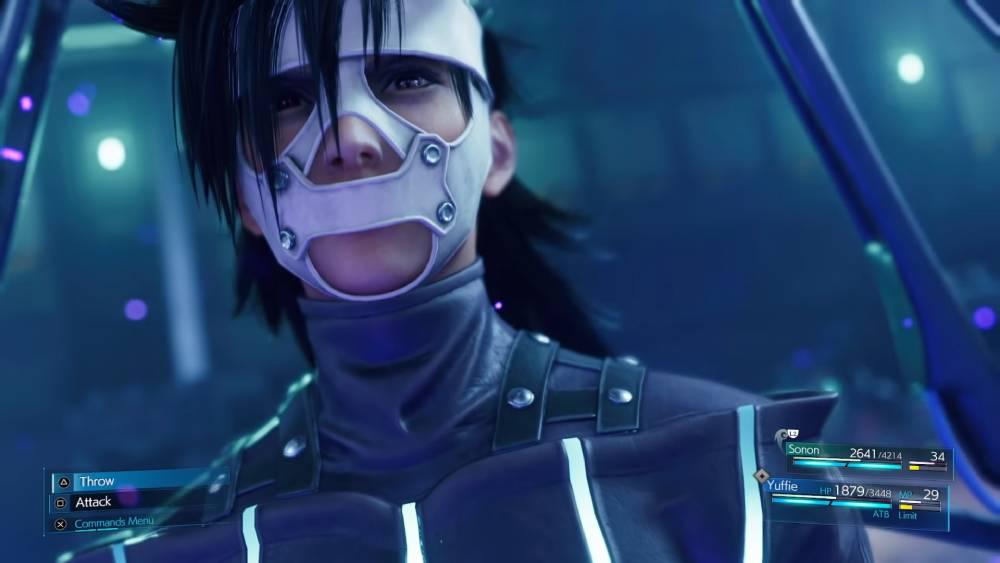 Screenshot de Final Fantasy VII Remake Intermission