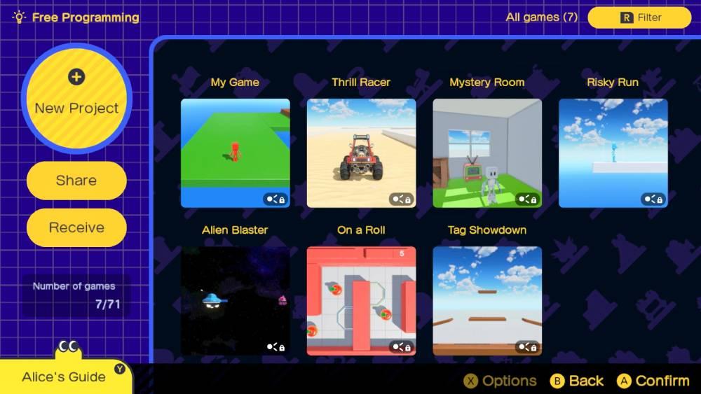 Screenshot de Game Builder Garage