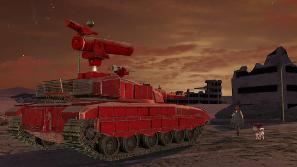 Screenshot de Metal Max Xeno: Reborn