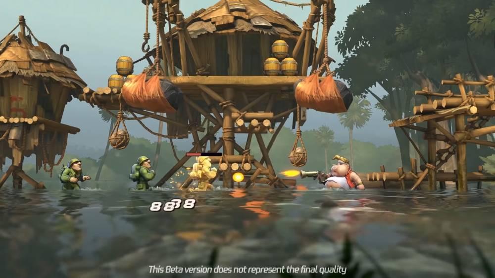 Screenshot de Metal Slug Code: J