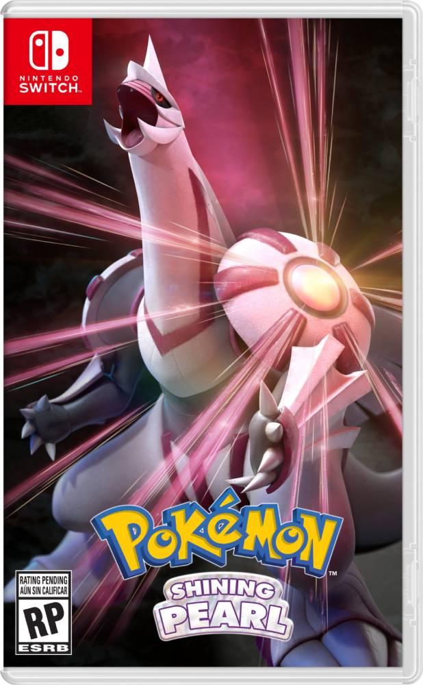 Capa de Pokémon Shining Pearl