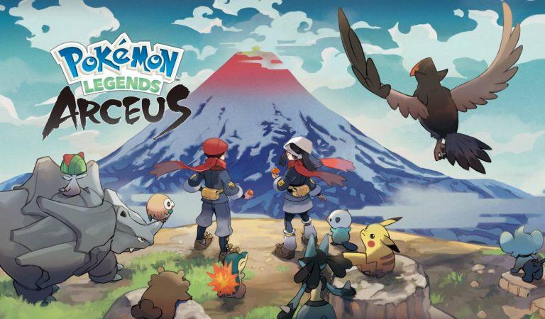 Pokémon Legends: Arceus recebe data de lançamento para 2022