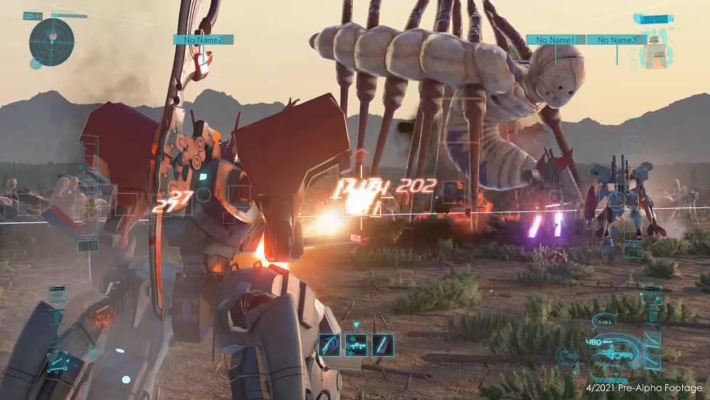 Screenshot de versão pré-alpha de Project Mikhail