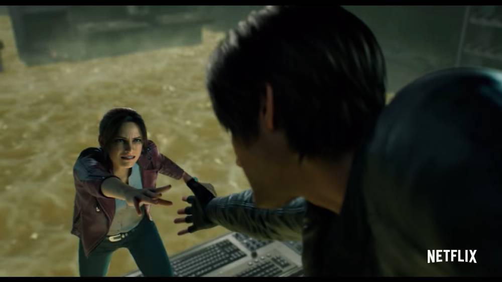 Captura de tela de Resident Evil: Infinite Darkness