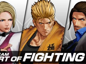 Arte de The King of Fighters XV