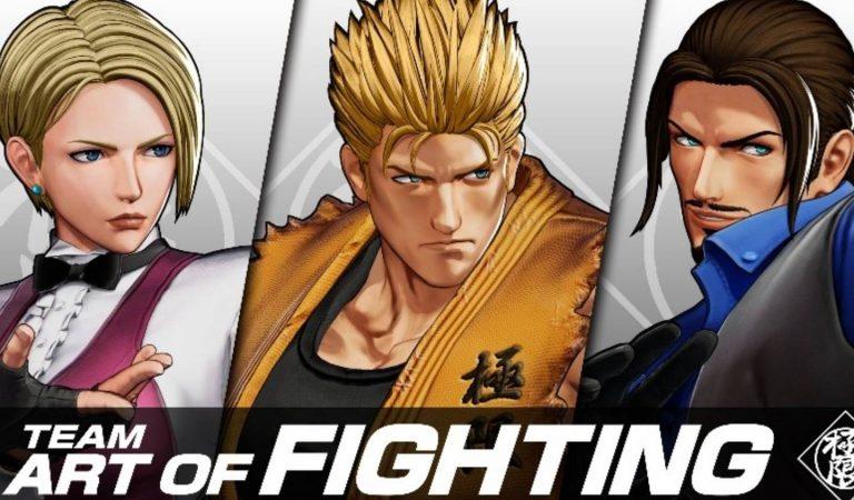 KOF XV dá destaque ao trio de lutadores King, Ryo e Robert