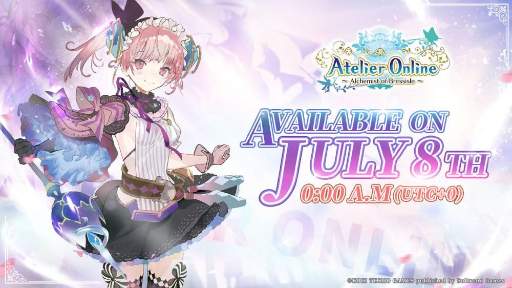 Arte promocional de Atelier Online: Alchemist of Bressisle