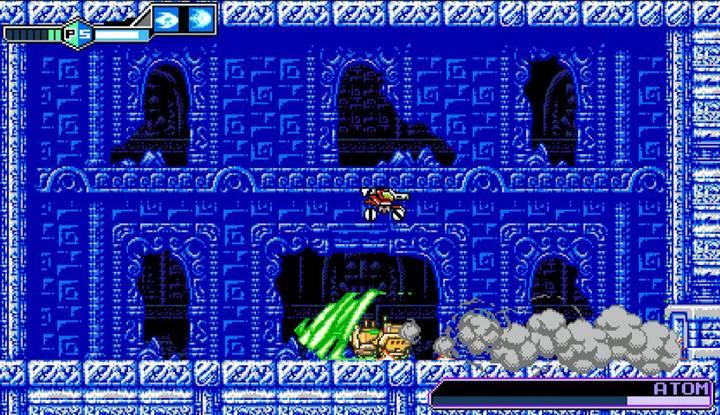 Screenshot de Blaster Master Zero II