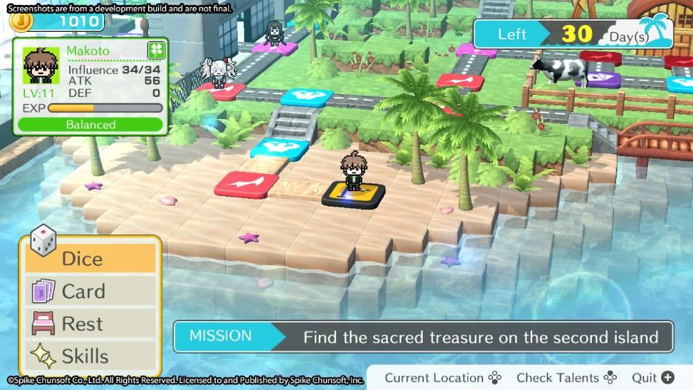 Screenshot de Danganronpa S: Ultimate Summer Camp
