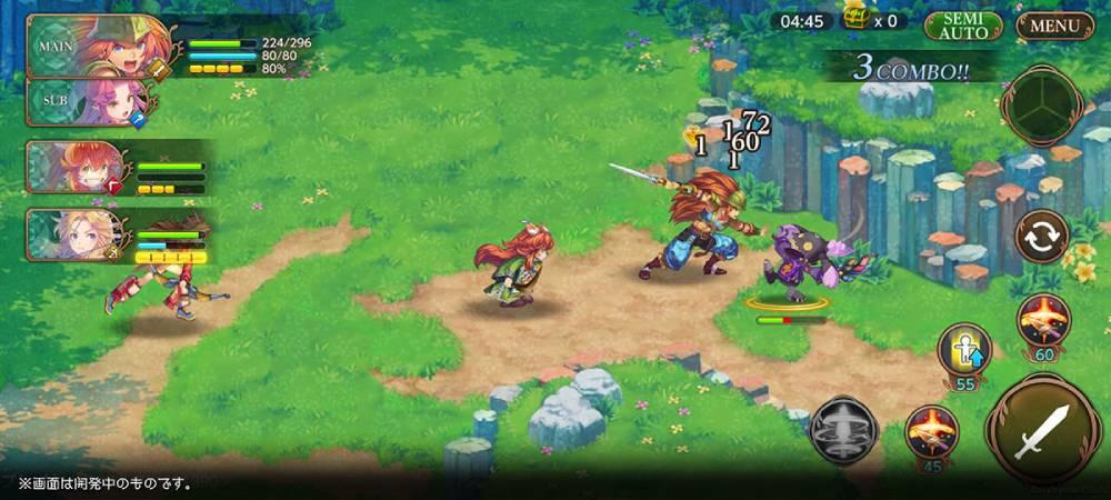 Screenshot de Echoes of Mana