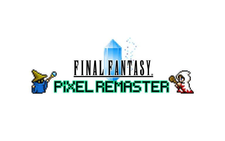Logotipo de Final Fantasy Pixel Remaster