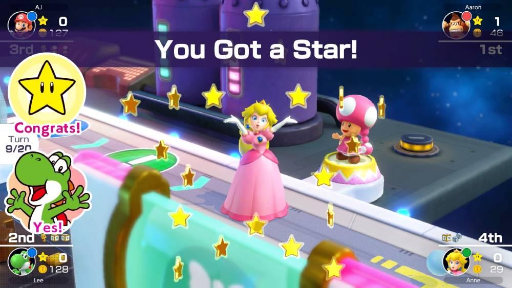 Screenshot de Mario Party Superstars