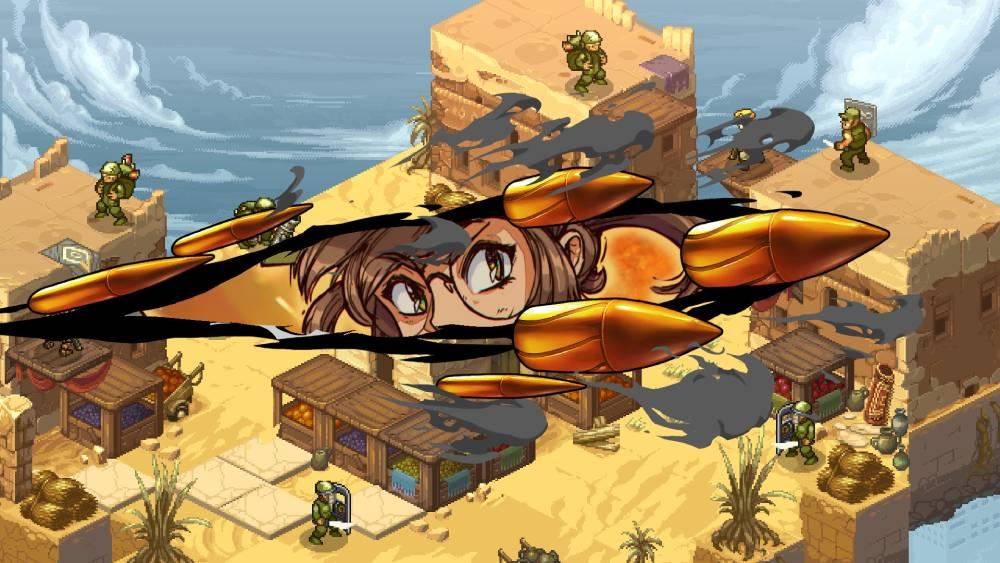 Screenshot de Metal Slug Tactics