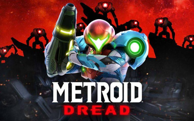 Arte de Metroid Dread