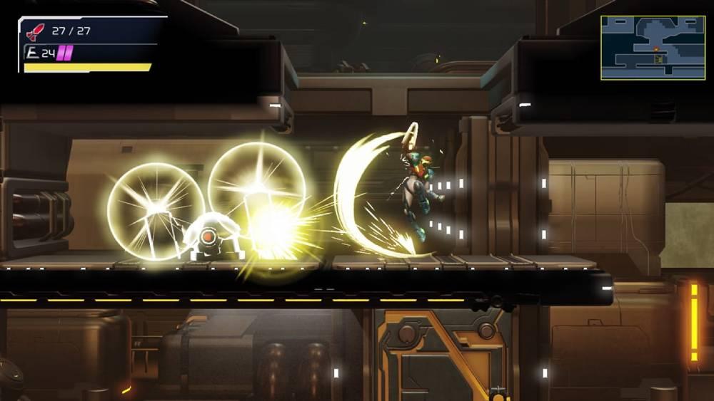 Screenshot de Metroid Dread