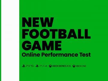 Imagem de New Football Game Online Performance Test da Konami