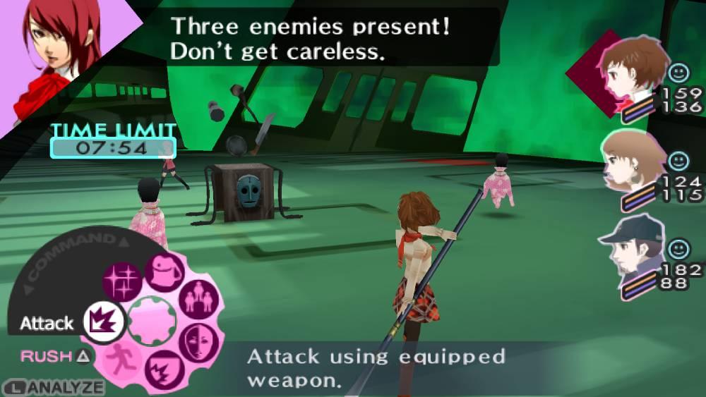Screenshot de Persona 3 Portable