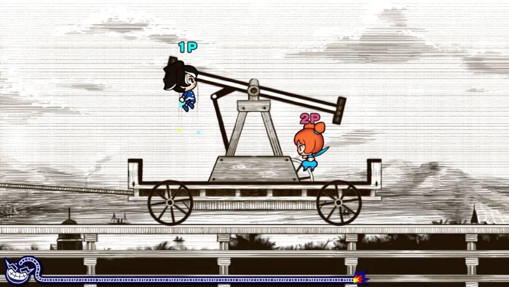 Screenshot de WarioWare: Get It Together!