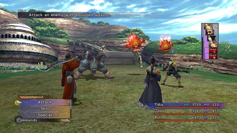 Screenshot de Final Fantasy X