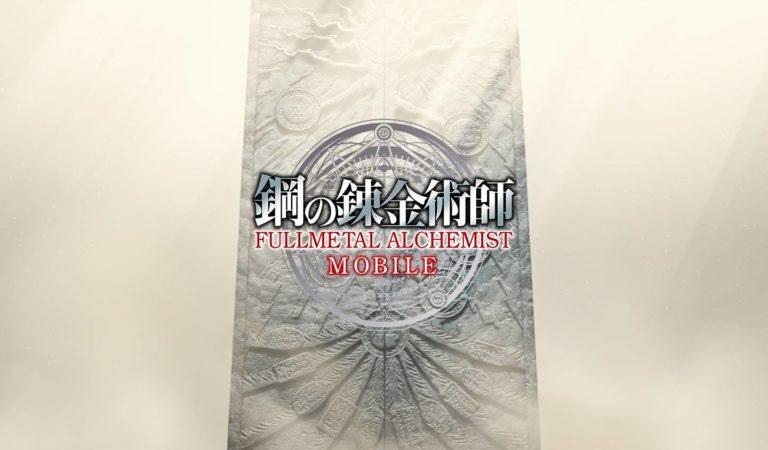 Fullmetal Alchemist Mobile é anunciado pela Square Enix