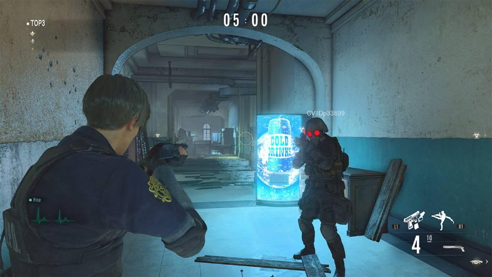 Screenshot de Resident Evil Re:Verse