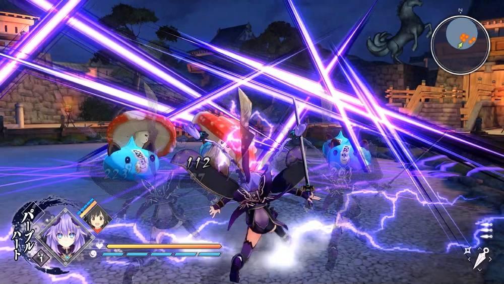 Screenshot de Senran Nin Nin Ninja Taisen Neptune: Shoujo-tachi no Kyouen
