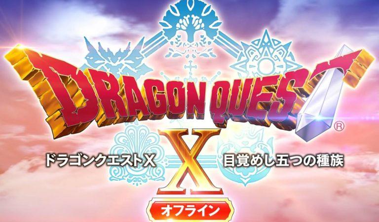 Dragon Quest X Offline detalha brevemente jogabilidade e mais