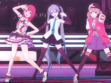 Screenshot de Hatsune Miku: Colorful Stage!