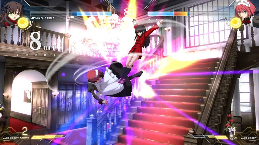 Screenshot de Melty Blood: Type Lumina