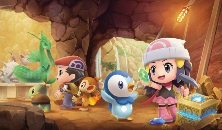 Pokémon Brilliant Diamond & Shining Pearl recebem novos detalhes