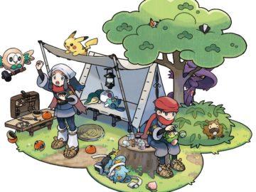 Arte de Pokémon Legends: Arceus