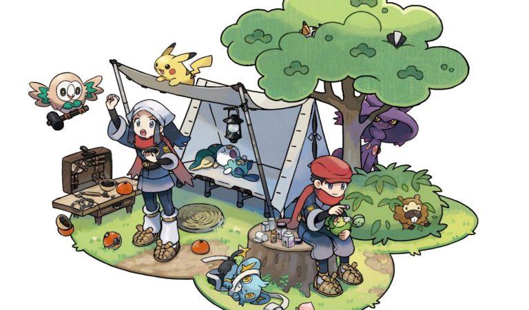 Pokémon Legends: Arceus destaca gameplay em trailer inédito