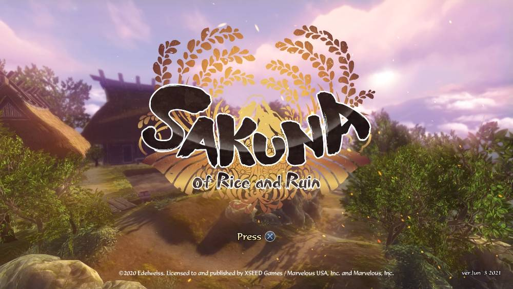 Screenshot de Sakuna: Of Rice and Ruin