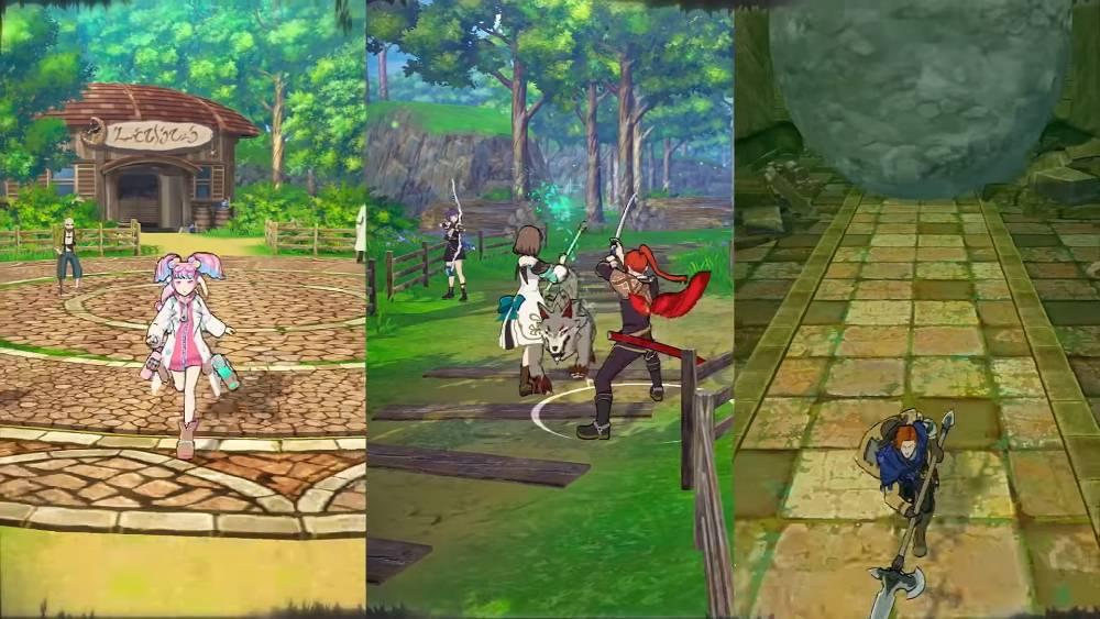 Screenshots de Tales of Luminaria