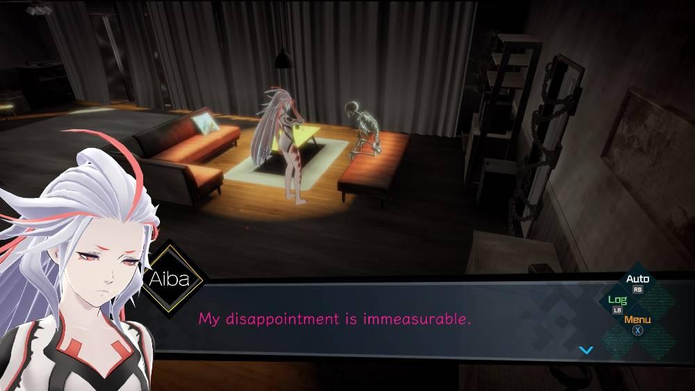 Screenshot de AI: The Somnium Files