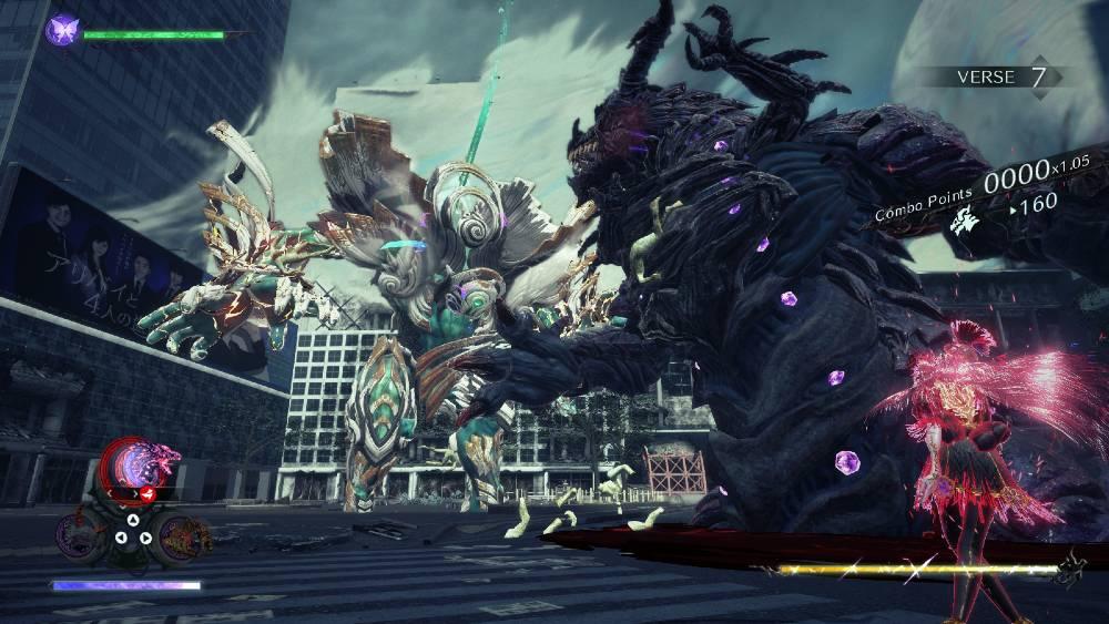 Screenshot de Bayonetta 3
