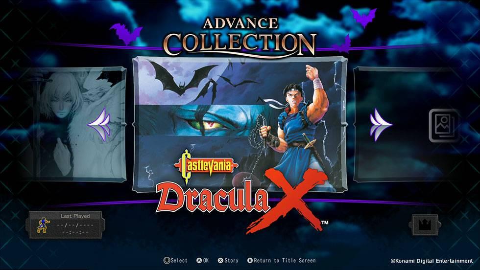 Screenshot de Castlevania Advance Collection