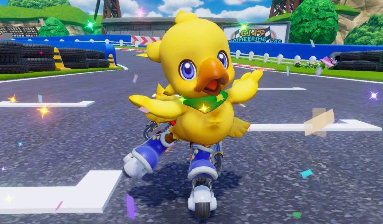 Chocobo GP transportará figuras de Final Fantasy para pistas de corrida
