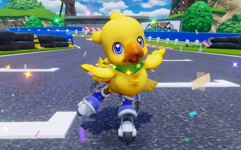 Screenshot de Chocobo GP