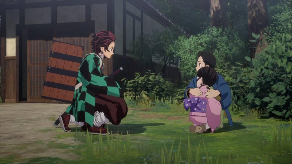 Screenshot de Demon Slayer: Kimetsu no Yaiba - The Hinokami Chronicles