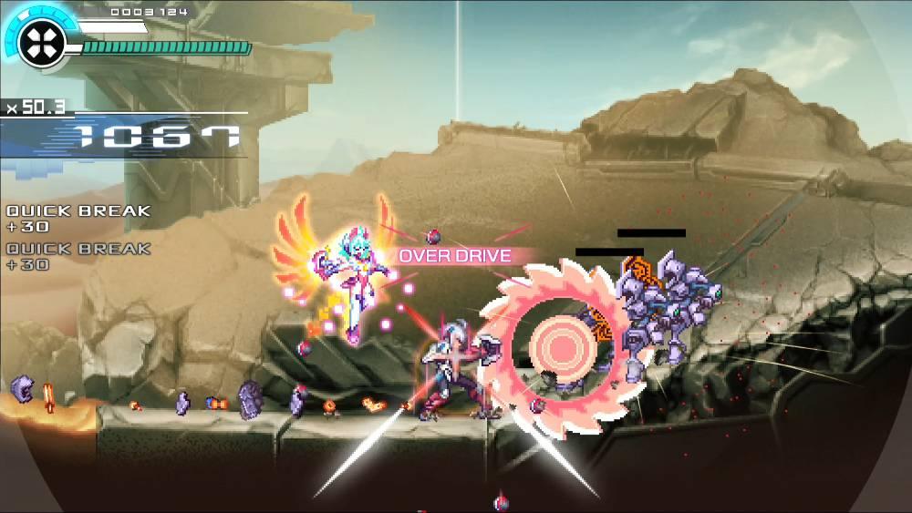 Screenshot de Gunvolt Chronicles: Luminous Avenger iX 2