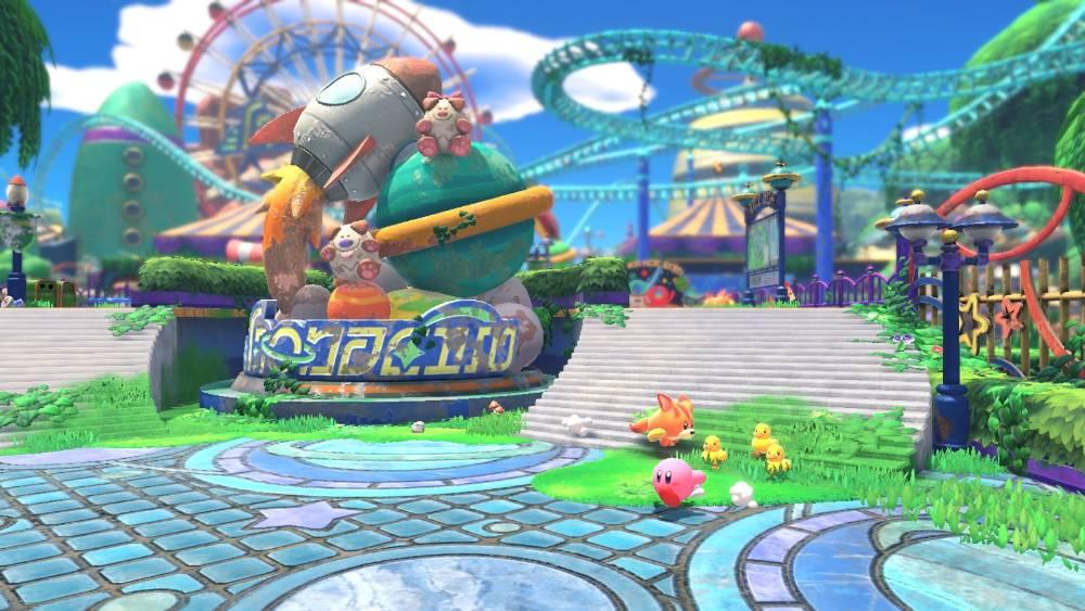 Screenshot de Kirby and the Forgotten Land