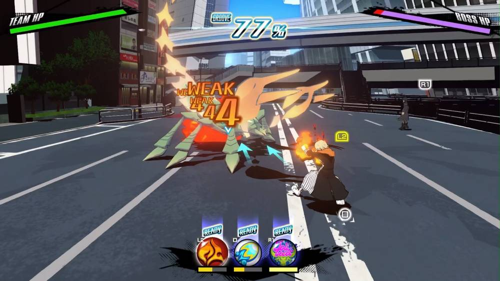Screenshot de NEO: The World Ends with You
