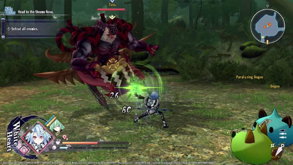 Screenshot de Neptunia x Senran Kagura: Ninja Wars