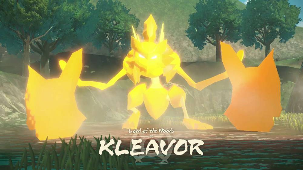 Screenshot de Pokémon Legends: Arceus