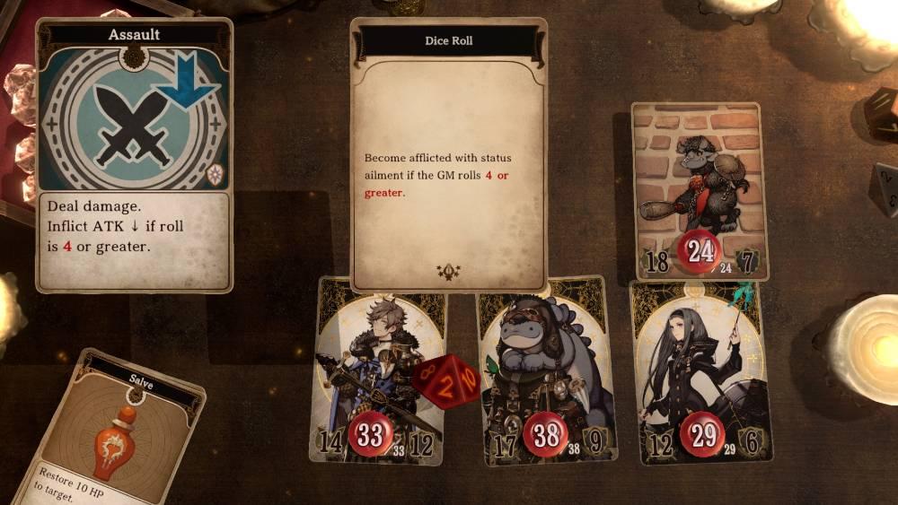 Screenshot de Voice of Cards: The Isle Dragon Roars