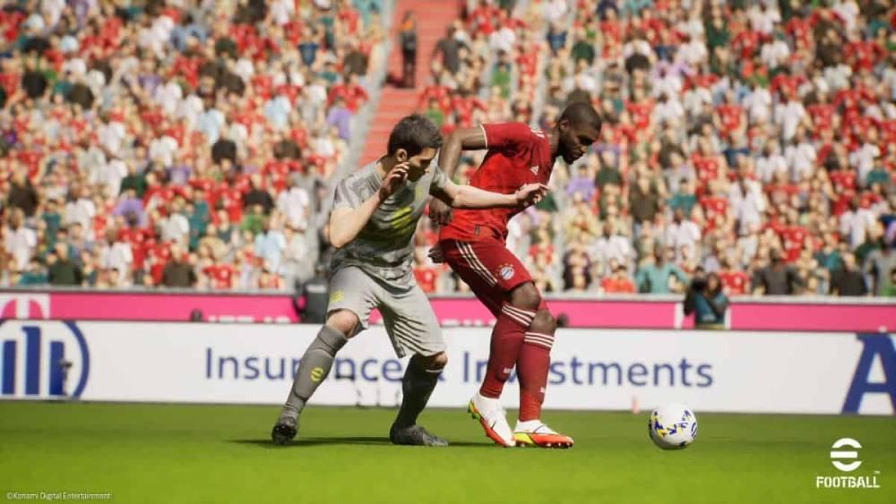 Screenshot de eFootball 2022