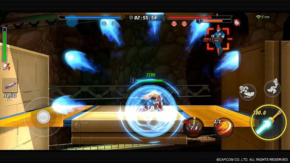 Screenshot de Mega Man X DiVE