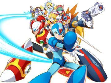 Arte de Mega Man X DiVE
